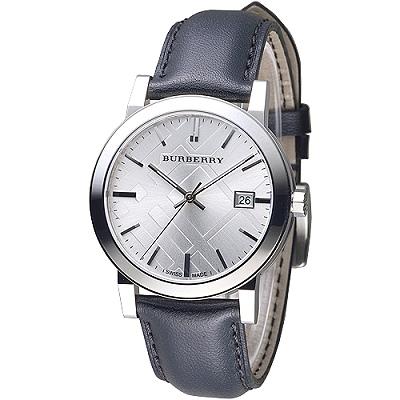BURBERRY 英國皇室品味設計風格男錶-均一價$10999