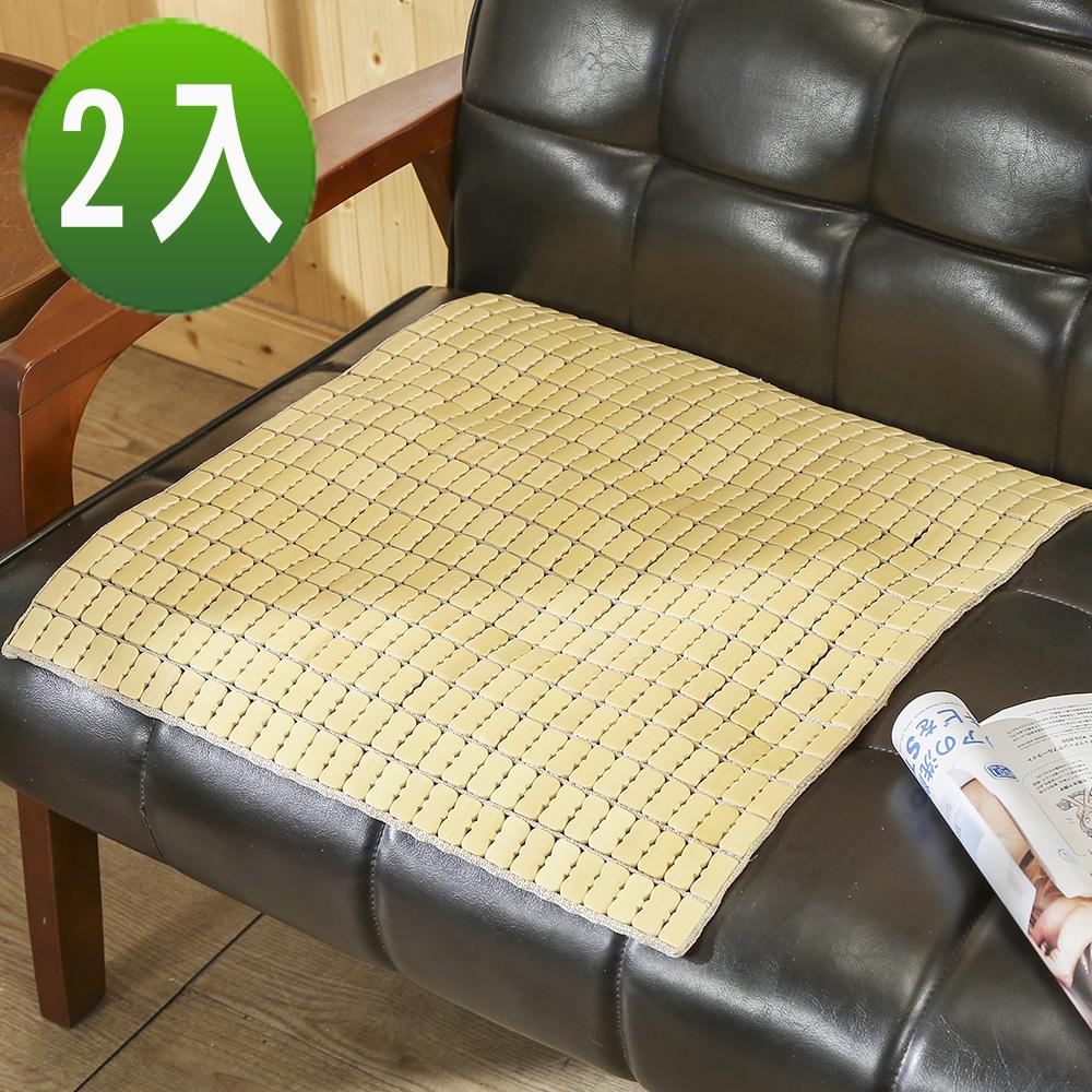 BuyJM 手作專利棉繩單人麻將坐墊2入組(長50x寬50公分)