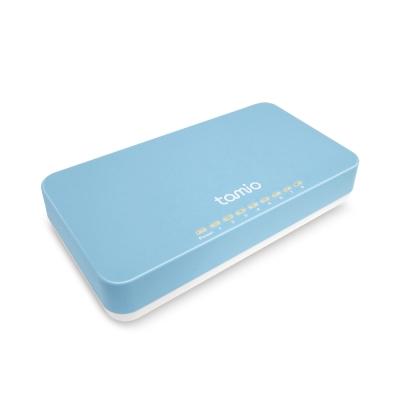 TAMIO 8埠USB供電GIGA乙太網路交換器S8
