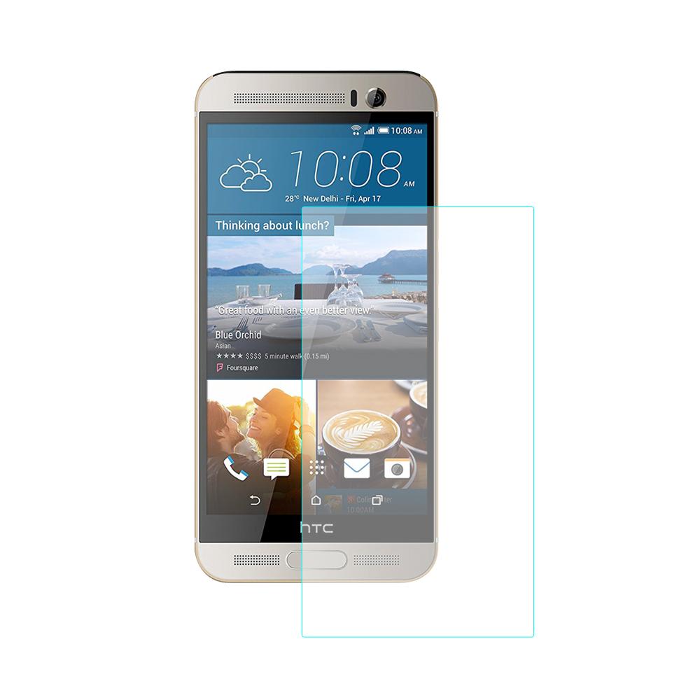 【SHOWHAN】HTC M9 9H鋼化玻璃貼 疏水疏油高清抗指紋