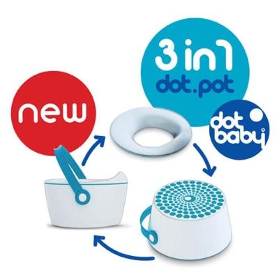 比利時Dot.Pot三合一幼兒學習便盆組