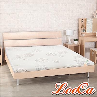 LooCa 高規HT雲緞舒柔5cm乳膠床墊-單人3尺