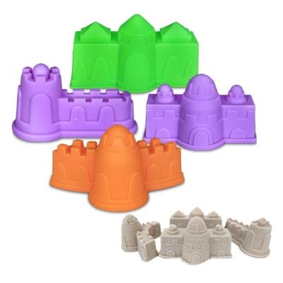 城堡4件組 TUMBLING SAND 翻滾動力沙玩沙模具