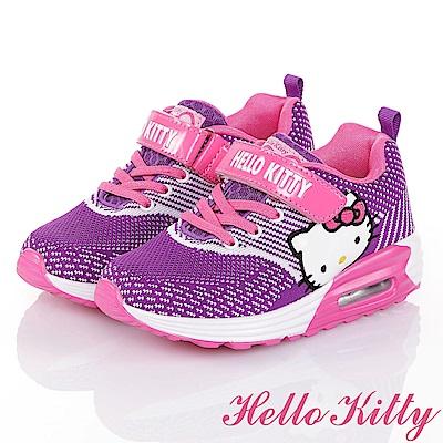 HelloKitty飛織防臭氣墊童鞋-紫(19.7-24.5cm)