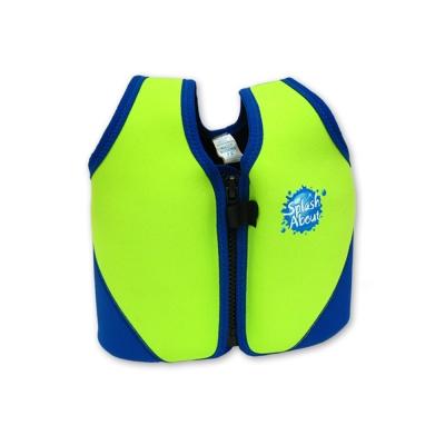 《Splash About 潑寶》 兒童浮力夾克 -  螢光綠 / 寶藍 3-6歲