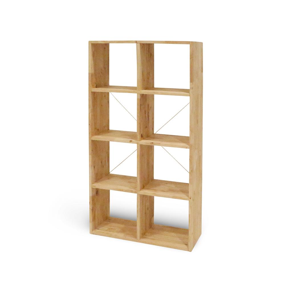 諾雅度-原生實木DIY八宮格-寬74深30高146cm