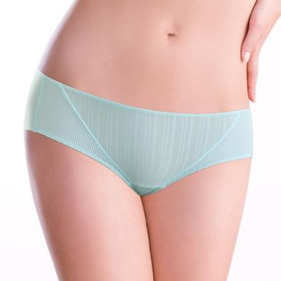 黛安芬-T-Shirt Bra M-EEL平口內褲(天空藍)
