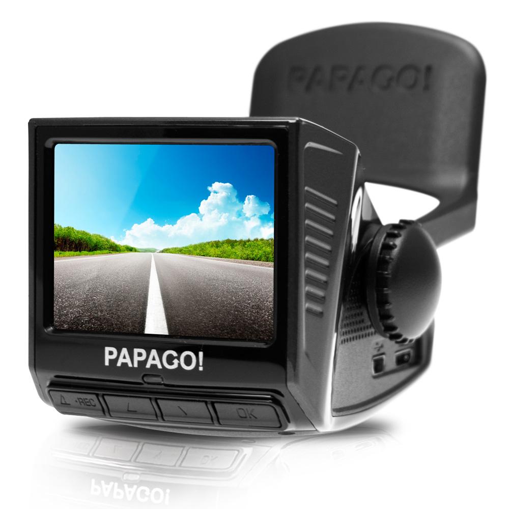 PAPAGO! P3 車道偏離/車距警示 行車記錄器黑-快