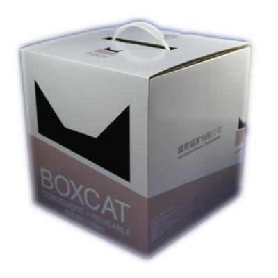國際貓家BOXCAT 灰標-極速凝結小球貓砂12L(10kg)