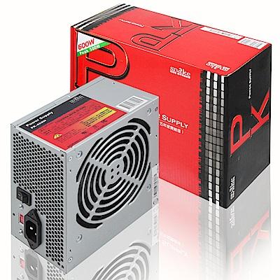 蛇吞象 PK系列電源供應器 500W (12CM靜音風扇/5年保修)