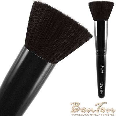 BonTon 墨黑系列 圓平修容/腮紅刷 LBLJ09 特級尖鋒羊毛