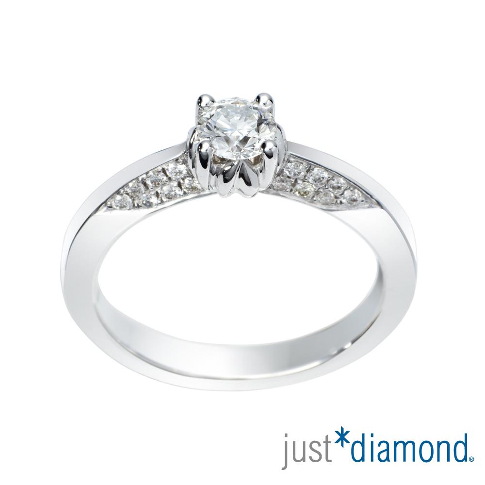 Just Diamond 30分18K金鑽石戒指-築戀