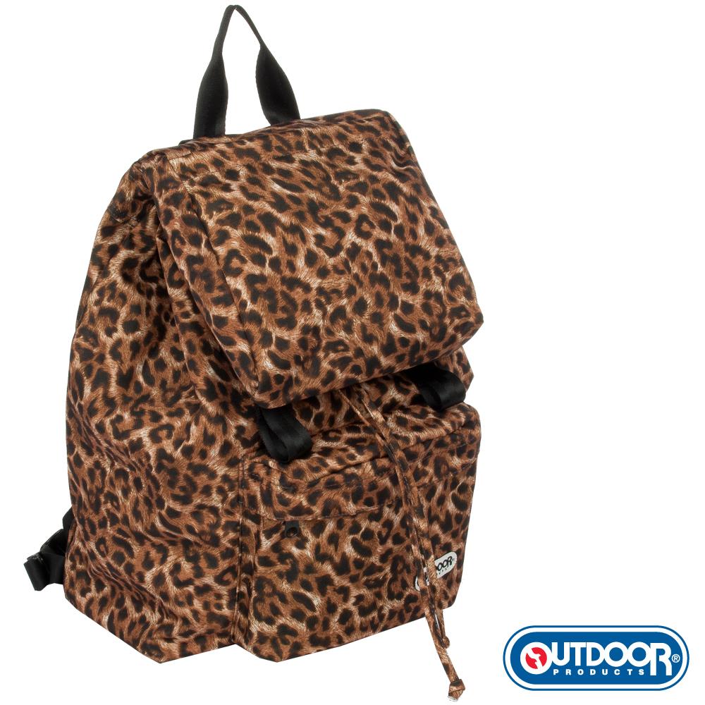 OUTDOOR-華麗搖滾系列-豹紋韓系後背包-OD452FLP