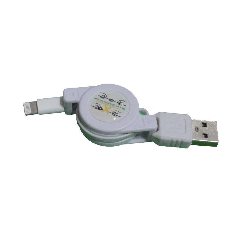Ipad mini/Iphone5 USB 伸縮充電傳輸線 USB-131 1組/2入