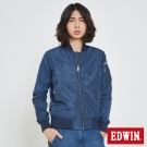 EDWIN 帥氣MA1單層外套-男-丈青