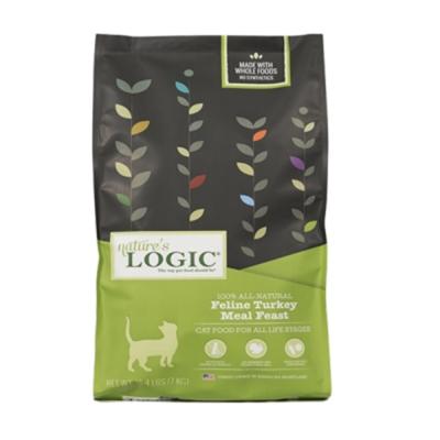 LOGIC自然邏輯天然糧《全貓種低敏火雞肉》低敏高適口性 3.3磅/包 2入