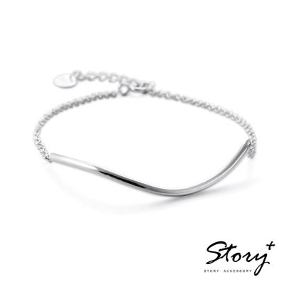 STORY故事銀飾-愛唯一 純銀手鍊