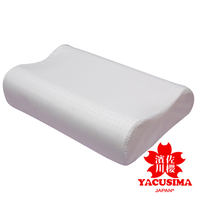 日本濱川佐櫻人體工學型乳膠枕-1入