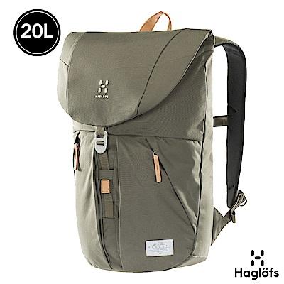 Haglofs Torsang 20L 防潑水 筆電後背包 聖人綠