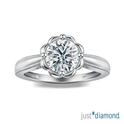 Just Diamond 綻花戀系列 GIA 0.32克拉 鑽石戒指