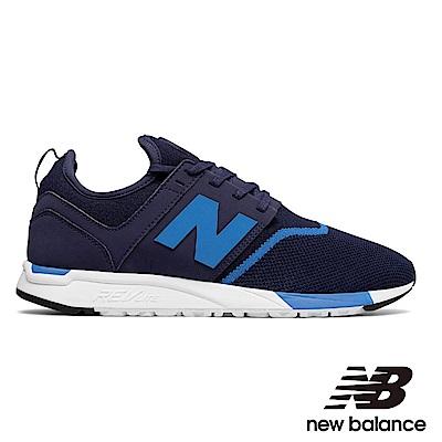 NEWBALANCE247運動鞋男MRL247NB藍