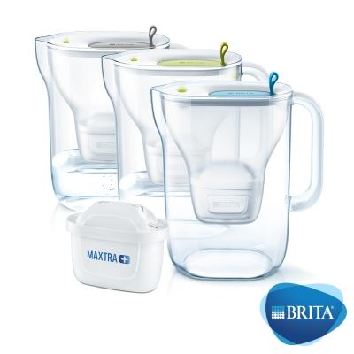 [限時下殺67折]BRITA Style3.6L濾水壺+MAXTRA Plus濾芯x2(共3芯)