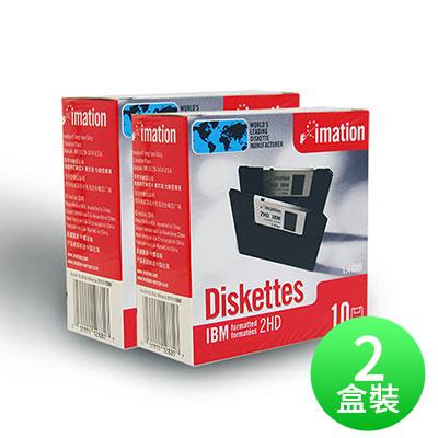 【IMATION】3.5吋 1.44MB磁碟片 10片裝(二盒)