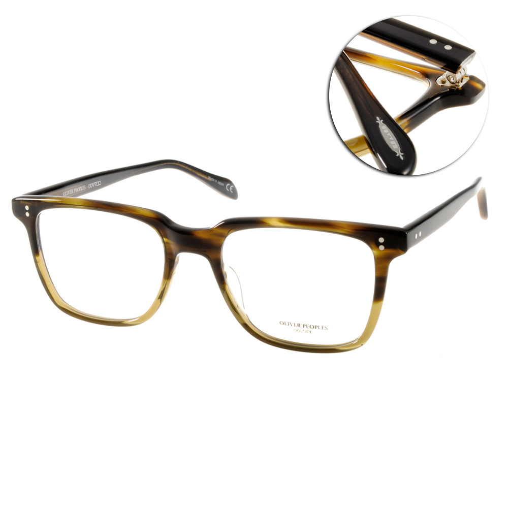 OLIVER PEOPLES眼鏡 好萊塢星鏡/咖啡棕#NDG-1 4663