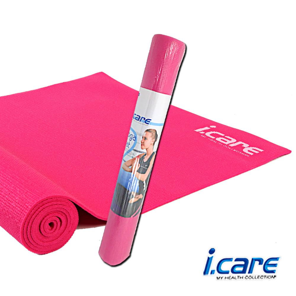 《凡太奇》I.CARE。瑜珈墊0.4cm(附網狀背袋) JIC030-1 - 快速到貨