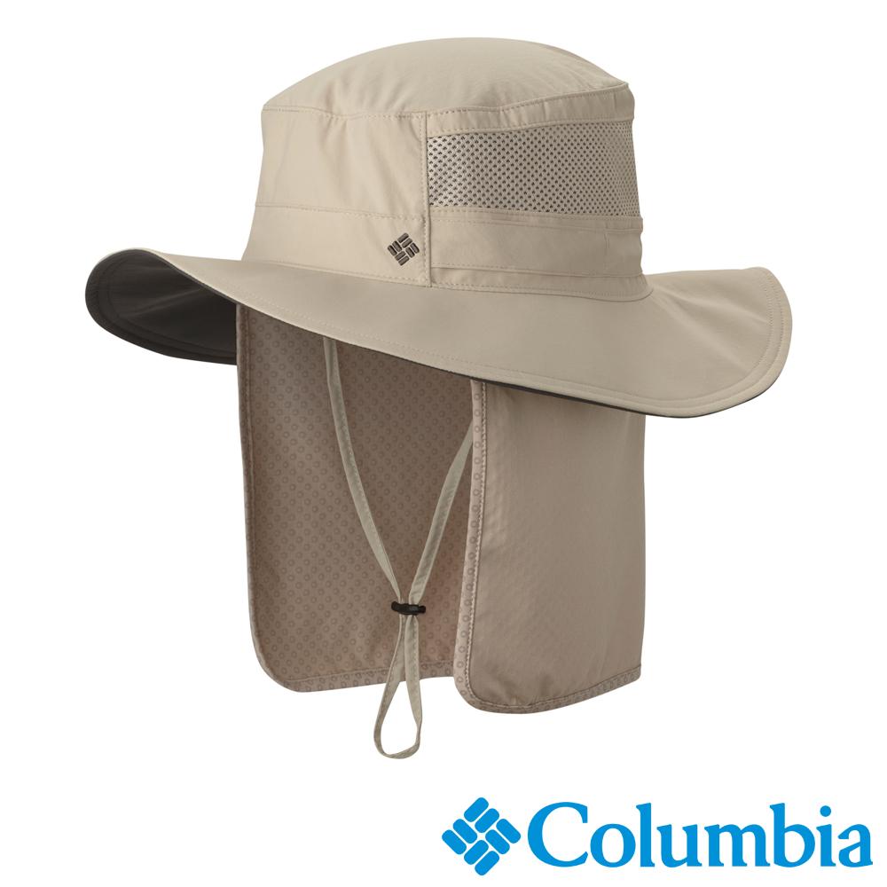 Columbia 哥倫比亞 防曬50涼感遮陽帽-卡其色UCU91420KI