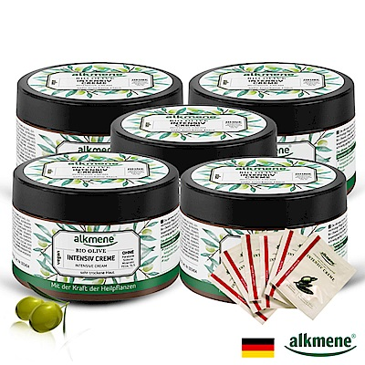 德國alkmene草本耀典橄欖加護乳霜250ml五入贈隨身6包