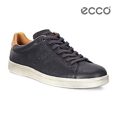 ECCO KALLUM 復古風格休閒鞋-藍