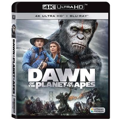 猩球崛起:黎明的進擊 ( 4K UHD+BD 雙碟限定版)  藍光 BD