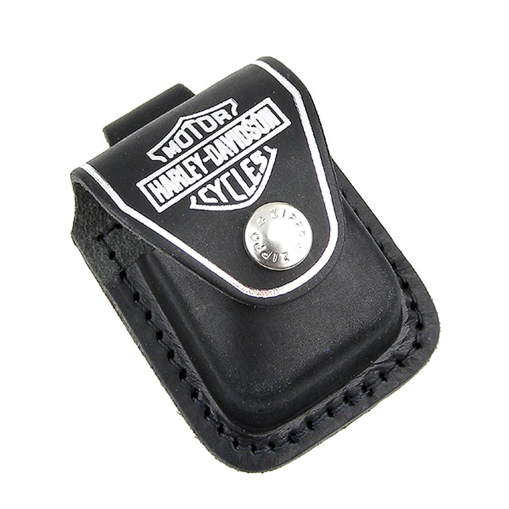 【ZIPPO】哈雷~Harley-Davidson-金屬扣式打火機皮套