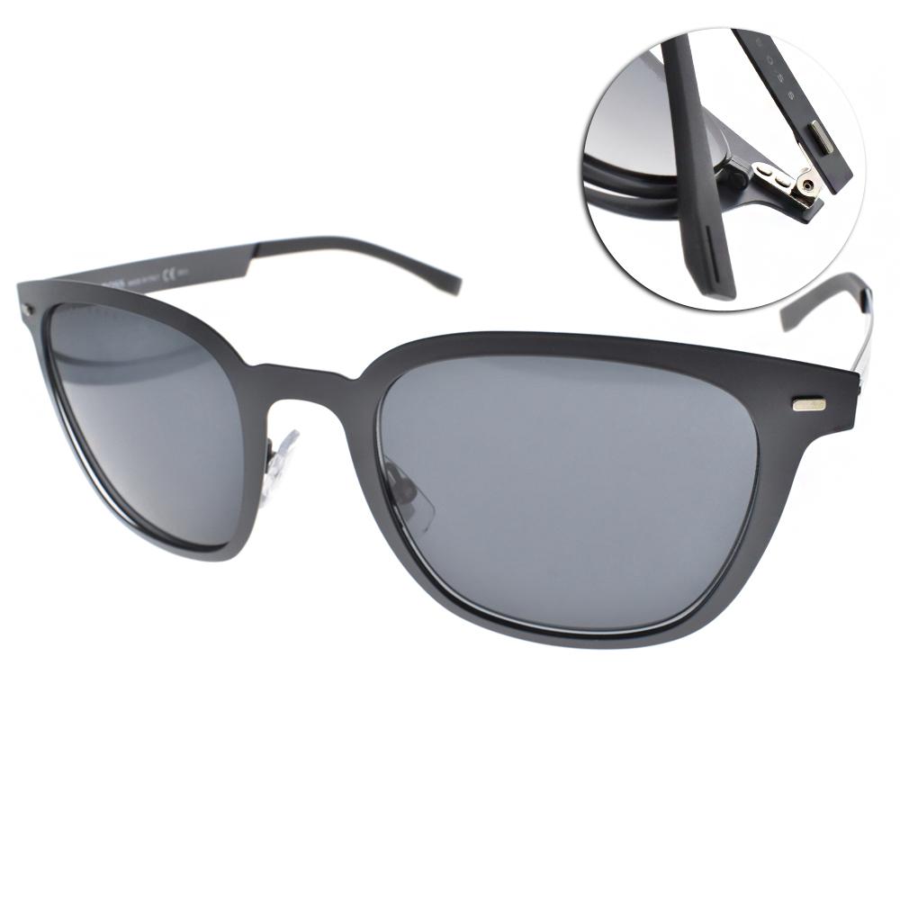 HUGO BOSS太陽眼鏡 質感方框款/灰#HB0936S FREIR