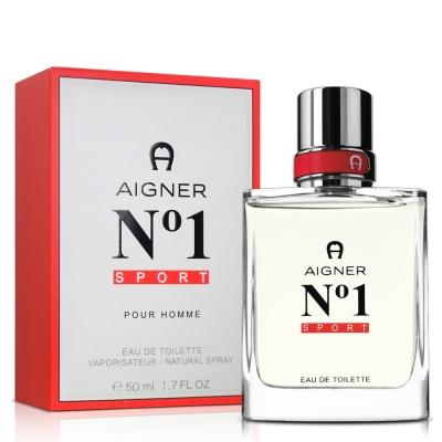 (即期品)Aigner 愛格納 NO1 sport 男性淡香水(50ml)