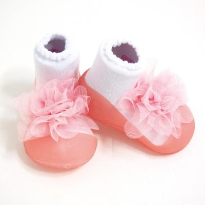 韓國 Attipas 學步鞋 正廠品質有保證 尺寸齊全胸花粉紅-AH 02 -Pink