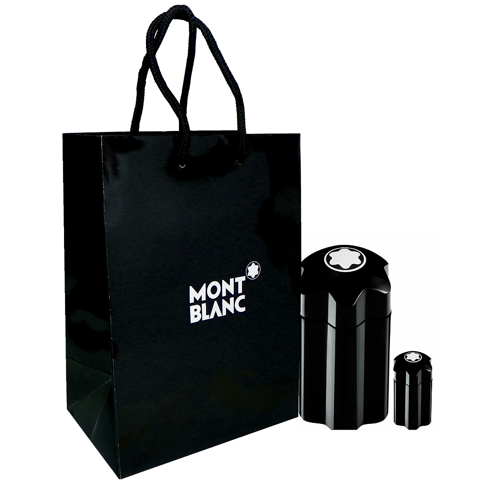 Montblanc 萬寶龍男性淡香水 100ml 搭贈 4.5ml 小香 + 紙袋