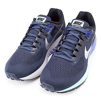 NIKE-女慢跑鞋904701401-藍