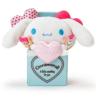 Sanrio SANRIO明星甜蜜愛心系列絨毛娃娃(大耳狗喜拿)