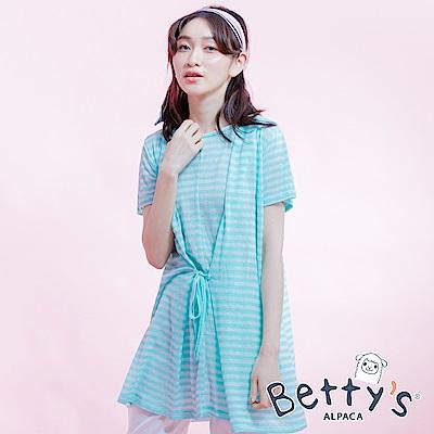 betty's貝蒂思 圓領連帽上衣(淺綠)