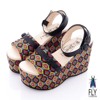 Fly-London-女-楔型高底鞋