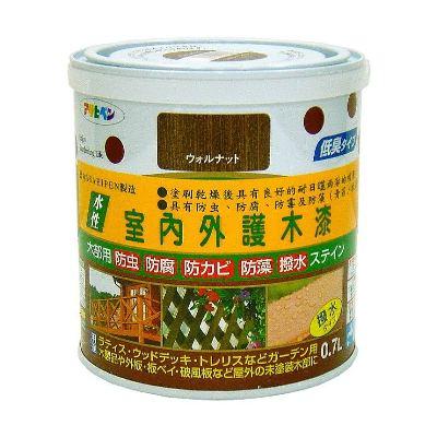 日本製室內/庭院防蟲防腐護木油漆0.7L