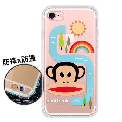 大嘴猴正版授權 iPhone 8/iPhone 7 原創風格 氣墊保護手機殼(彩...