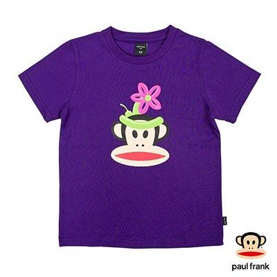 Paul Frank-趣味氣球Julius印花短袖T恤-紫(童)
