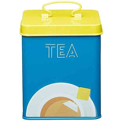 KitchenCraft 彩繪茶葉收納罐