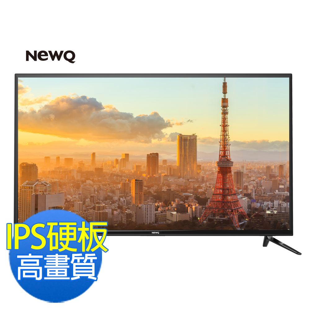 NEWQ 50型護眼低藍光高畫質LED液晶顯示器+視訊盒 50NQ-13A