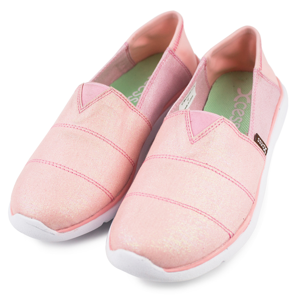 XCESS-女休閒鞋GW049PIN-星空粉紅