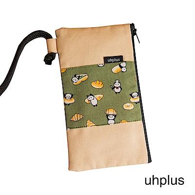 uhplus 手機袋-熊貓烘培