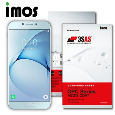 iMOS SAMSUNG GALAXY A8(2016) 3SAS 疏油疏水 螢...